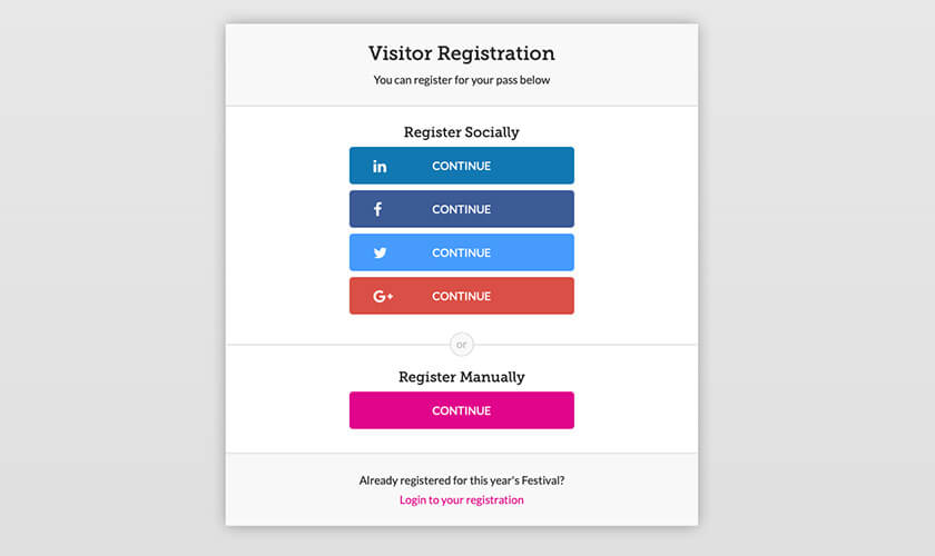 Registration Examples